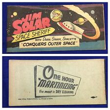 "Original 1953 ""John Solar Space Sheriff Conquers Outer Space"" Premium Comic book"