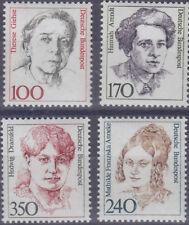 Bund 1390/93 ** 100, 170, 240, 350 Pfg Freim. Ausg. Frauen, postfrisch