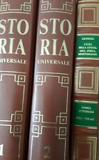 Storia universale Rizzoli Larousse (2 volumi)