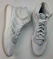 ADIDAS Mens Size 18 Marquee BOOST Basketball Shoes White Silver G28757