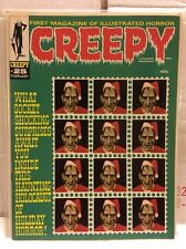 Creepy No 25, 1968 Christmas Edition By Warren Publishing In VF+ Condition