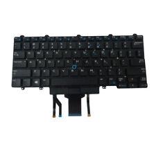 D19TR Dell Latitude E5450 E5470 E7450 E7470 Backlit Keyboard w/ Pointer/Buttons