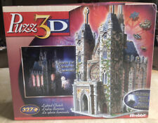 Wrebbit Puzz 3D Lighted Church Foam Puzzle New Sealed