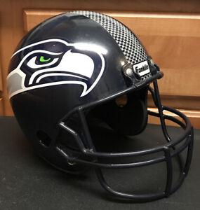 Franklin Youth Plastic Seattle Seahawk's Replica NFL Football Helmet
