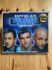 Eiffel 65 - Blue (Da Da Dee) - 4 Track Cd Single (1998) Eternal Records