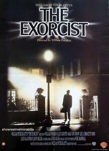 Original Exorcist Movie Poster ICONIC 73 ART Horror Memorabilia Video Shop