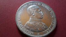 5 Mark Silber Kaiserreich; Kaiser Wilhelm II. Kürassieruniform  1913 - VZ/ST !!!