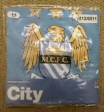 Manchester City FC Official Boys Kids Summer Pyjamas Age 4-5 Years - New In Pack