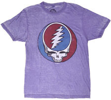 Grateful Dead Lightning Skull T-Shirt Acid Purple Mens Size Small