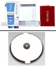 Go Smile Whitening Travel Jet Set + 3x/1x Jeweled Compact White Mirror FL-31CP-W