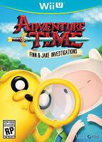 Adventure Time: Finn & Jake Investigations (Nintendo Wii U, 2015) Free Shipping