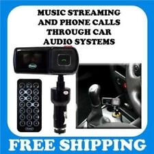 Car FM Transmitters with Bluetooth