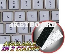 MAC FRENCH AZERTY KEY STICKER BLACK