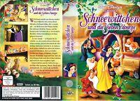 (VHS) Schneewittchen und die sieben Zwerge ... Walt Disney Klassiker (1937)