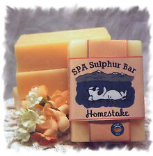 Mango Papaya _Homestake_ SPA Sulphur Mineral Soap Made in Montana Handmade
