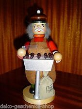 Smoking Man Grill with Bratwurst Roster Colour Figure 20 cm Large New 40299