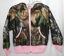 Mossy Oak Camo Pink Girl's Jacket, Camouflage Lightweight Performance