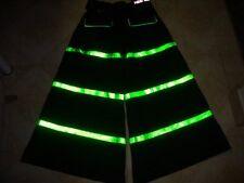 Raver ore Techno Hardstyle Tanz Hose fluoreszierend Shuffle DJ PHAT Pants n39