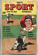 True Sport Picture Stories Vol 4 #9-1948 the Philadelphia Athletics McCahan