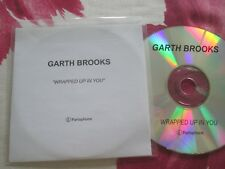 Garth Brooks – Wrapped Up In Parlophone Records Promo UK CD Single