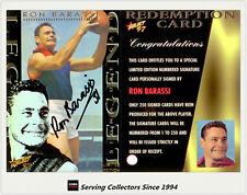 1997 Select AFL Ultimate Series Signature Redemption Card SC1 Ron Barassi-Melb