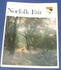 NORFOLK FAIR MAGAZINE NOVEMBER 1970 - ST EDMUND/H.M.S. NORFOLK/NORFOLK REVELRIES