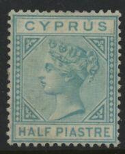CYPRUS, MINT, #11, NG, VAR, BLUE GREEN, NICE CENTERING