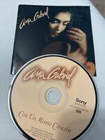 Con un Mismo Corazon by Ana Gabriel (CD, 1997, Sony Music