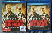A Good Day To Die Hard (Blu-Ray + Dvd + Digitalhd) w/ Slipcover
