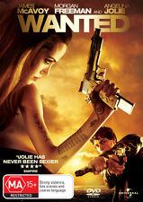 Wanted * NEW DVD * (Region 4 Australia)