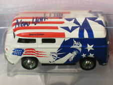 NYC VW BUS USA with Statue of Liberty, Stars and Stripes ~ Tiger Wheels 4,000 LE