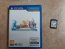 Jeu PS Vita Final Fantasy X