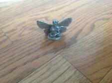 Partha Mythical Pewter Fairy with Wings Figurine with blue & red Pp302 ~ 1984