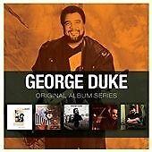 George Duke - Original Album Series 5CD Box Set - 5 full length classic albums