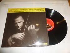 RUDOLF KEMPLE - YEHUDI MENUHIN with THE BERLIN PHILHARMONIC ORCHESTRA - Vinyl LP