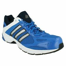 Mens Blue/White/Black Lace Up Adidas Running Trainers Duramo 4M