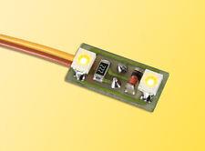Viessmann 6017 H0 Iluminación hogar 2 LED amarillo #nuevo en emb. orig.#