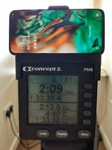 Concept2 indoor rower phone holder pm3 4 5  1st class post same day dispatch