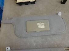 Passenger Manual Sun Visor & Mirror 95 96 97 Isuzu Rodeo White 4x4 4 Dr 3.2 OEM