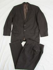 Vtg 1950's Fleck Suit Bespoke Made in Germany Wolfgang Fischer Jacket & Pants