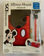 NEW Nintendo DS Lite or DSi Systems Character Kit Bundle Mickey Mouse New