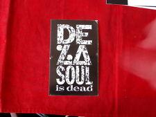 DE LA SOUL~ IS DEAD~ RARE POST CARD~ 1991~ PROMO ONLY~ ~COLLECTABLES