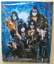 KISS Autographed 16x20 Photo - Simmons, Stanley, Thayer & Singer - w/COA