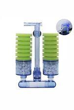 Aquarium Air Pump Sponge Bio Filter Silent Mechanical & Biological High Density