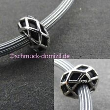 TROLLBEADS Silber Stopper Spacer Nachthimmel / Night Sky - TAGBE-10184