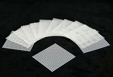 "US Made 20 Pcs. 1.5""x 1.5"" Plastic Drainage Mesh / Screen / Net For Bonsai Pot"