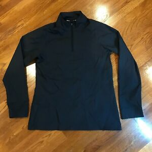Under Armour Womens 1/4 Zip Infrared Cold Gear 1242383 Tactical Jacket Blue MD