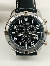 Citizen Eco Drive Perpetual Calendar Chronograph Alarm 44mm Men's Watch