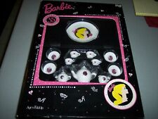 Barbie Tea Set Nostalgic China Miniature Set with Collector Case