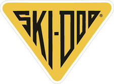 "#681 (1) 3"" Ski-Doo racing bee skidoo bombardier Vinyl Decal LAMINATED stickers"